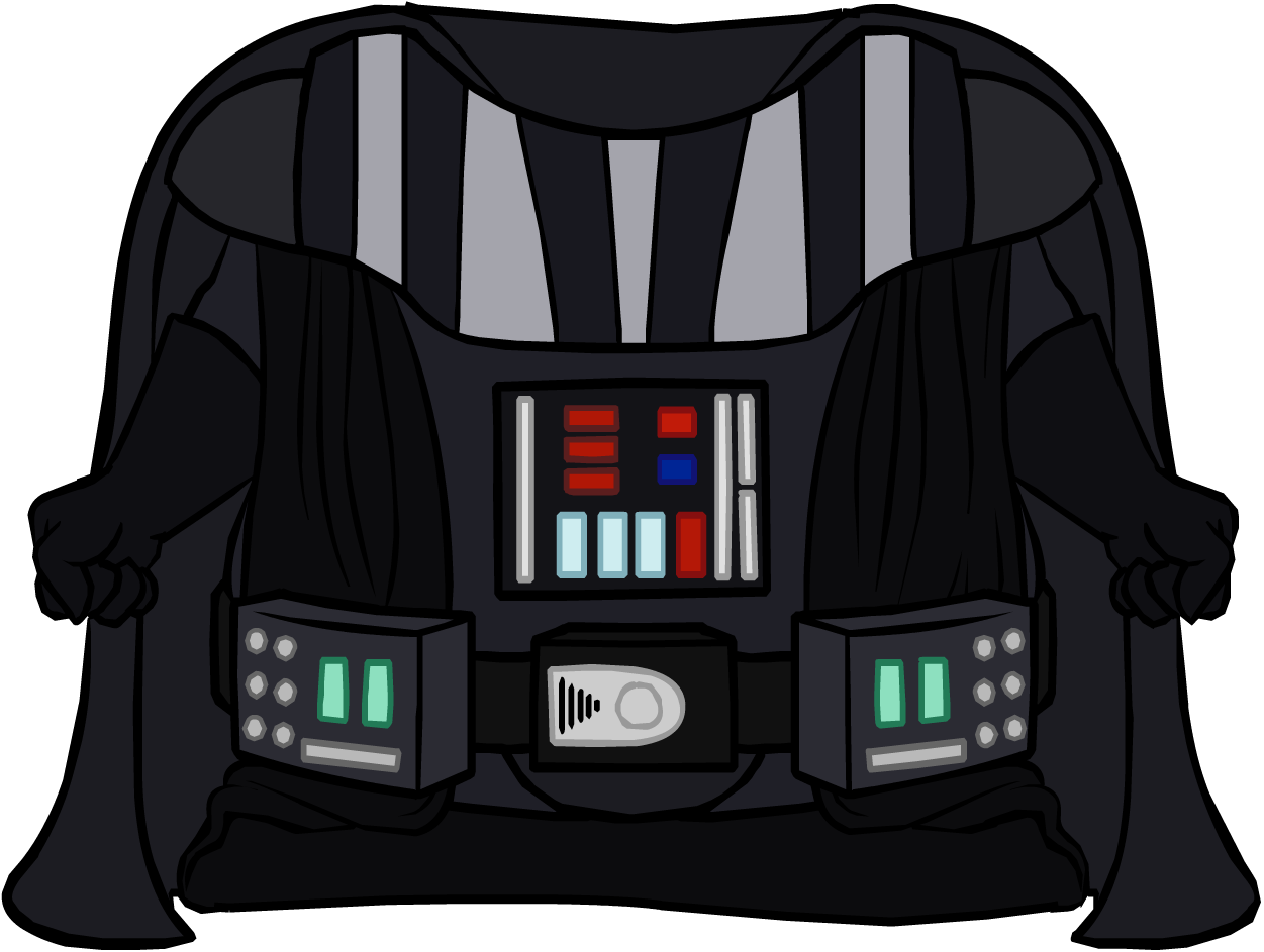 Darth vader clipart full length. Topper clip arts for