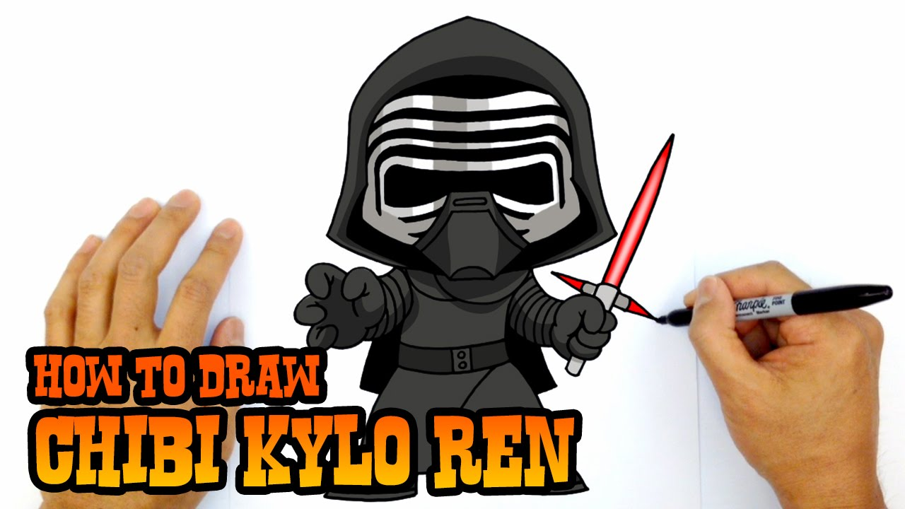 Darth vader clipart kylo ren. How to draw star