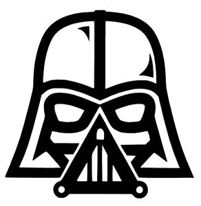Darth vader clipart logo. Star wars the force