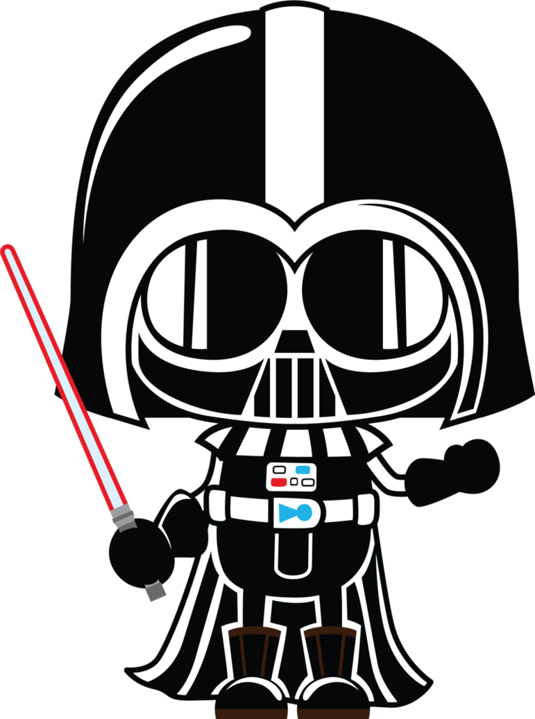 Darth vader clipart printable. Dart free starwars alice