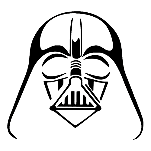 Darth vader clipart silhouette. At getdrawings com free