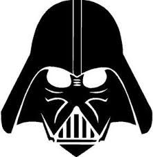 Darth vader clipart silhouette. I think m in
