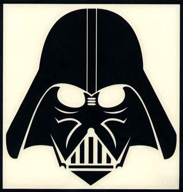 Darth vader clipart silhouette. Head x cb edarth