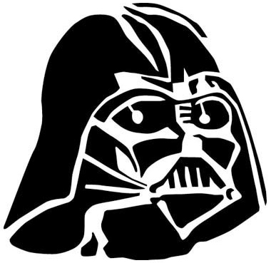 Mask silhouette at getdrawings. Darth vader clipart svg image library stock