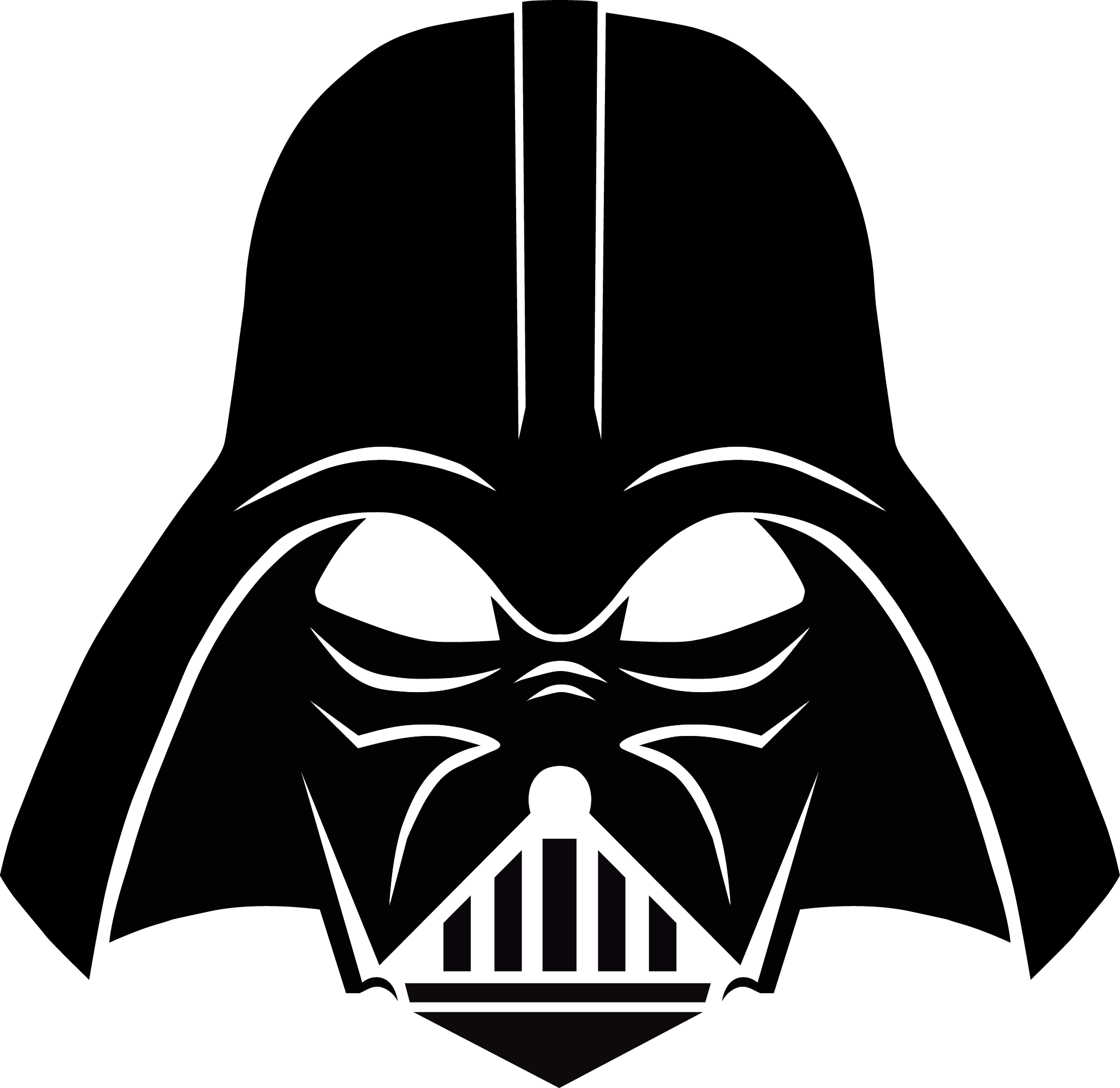 Darth vader clipart. Stencil free download pinterest
