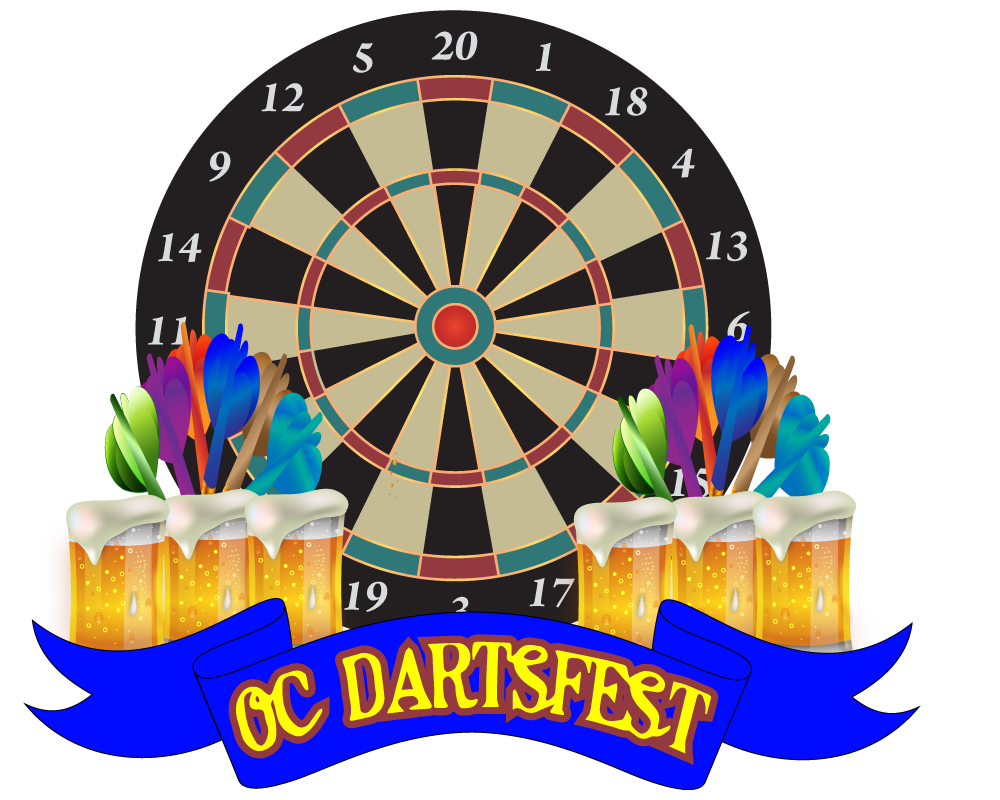 Darts clipart absolutely. Oc dartsfest june
