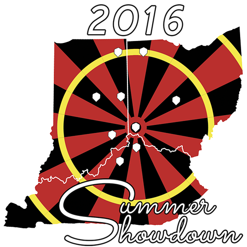 Darts clipart dart tournament. Summer showdown where the