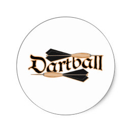 Darts clipart dartball. Game of stickers zazzle