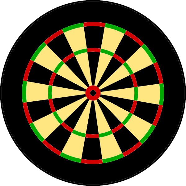 darts clipart large