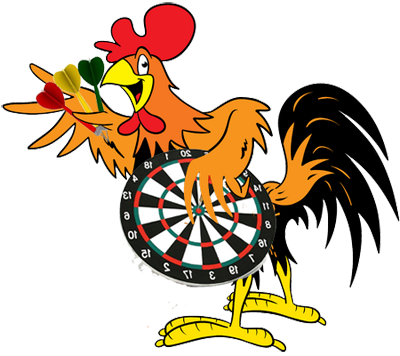 Column the chicken coop. Darts clipart player jpg free library