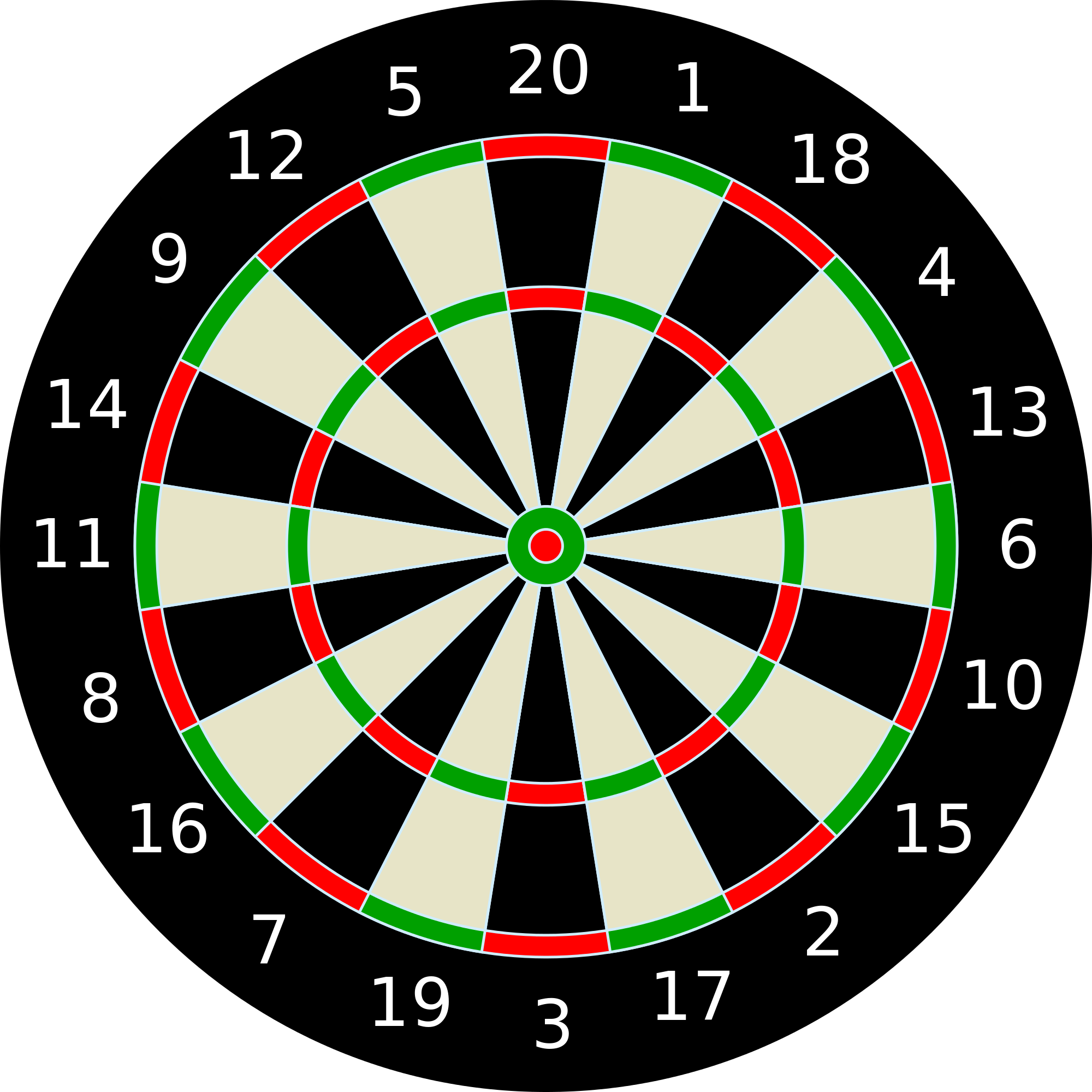 Darts clipart svg. File dartboard unlabeled wikimedia