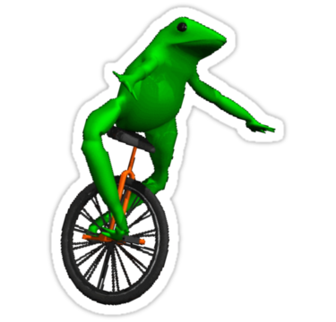 Oh shit whaddup png. Dat boi stickers pinterest