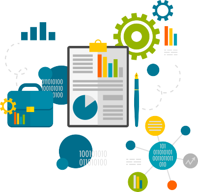 Data clipart data process. Erp integration michell consulting