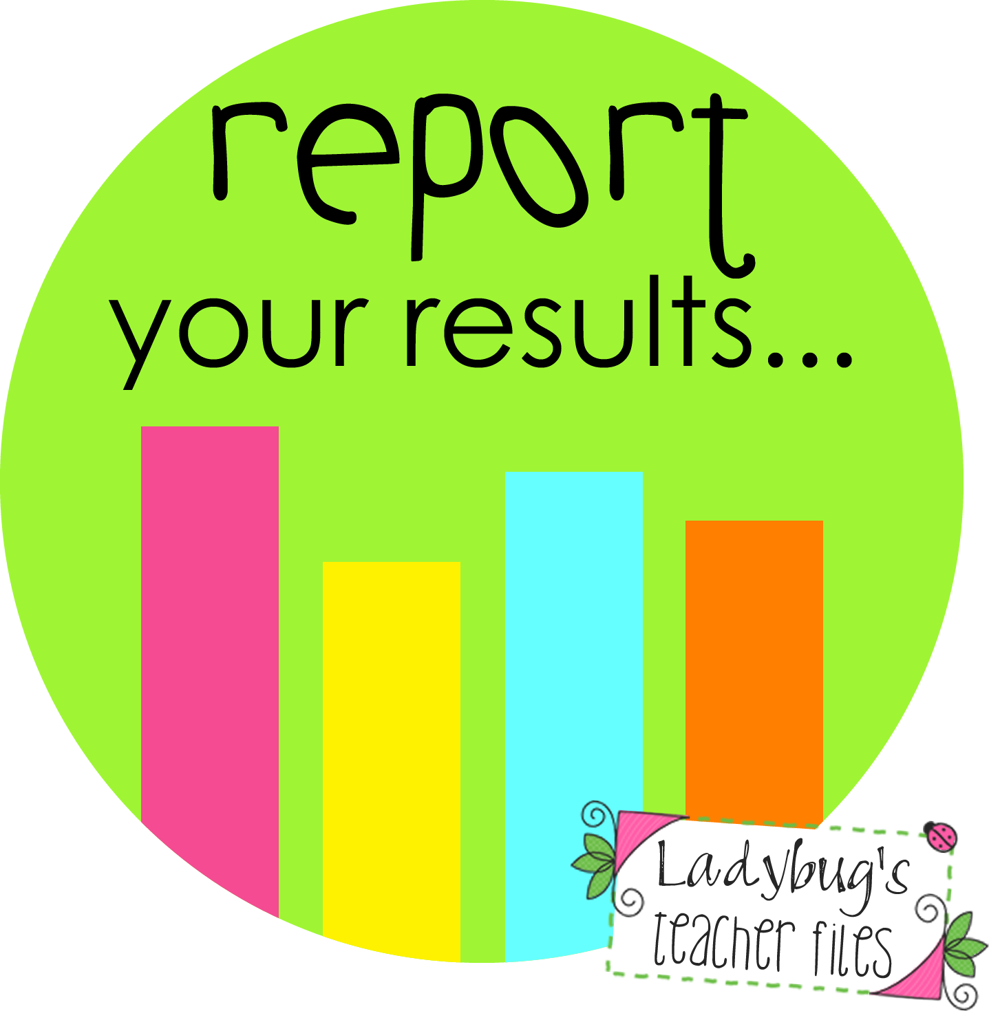 results clipart data result