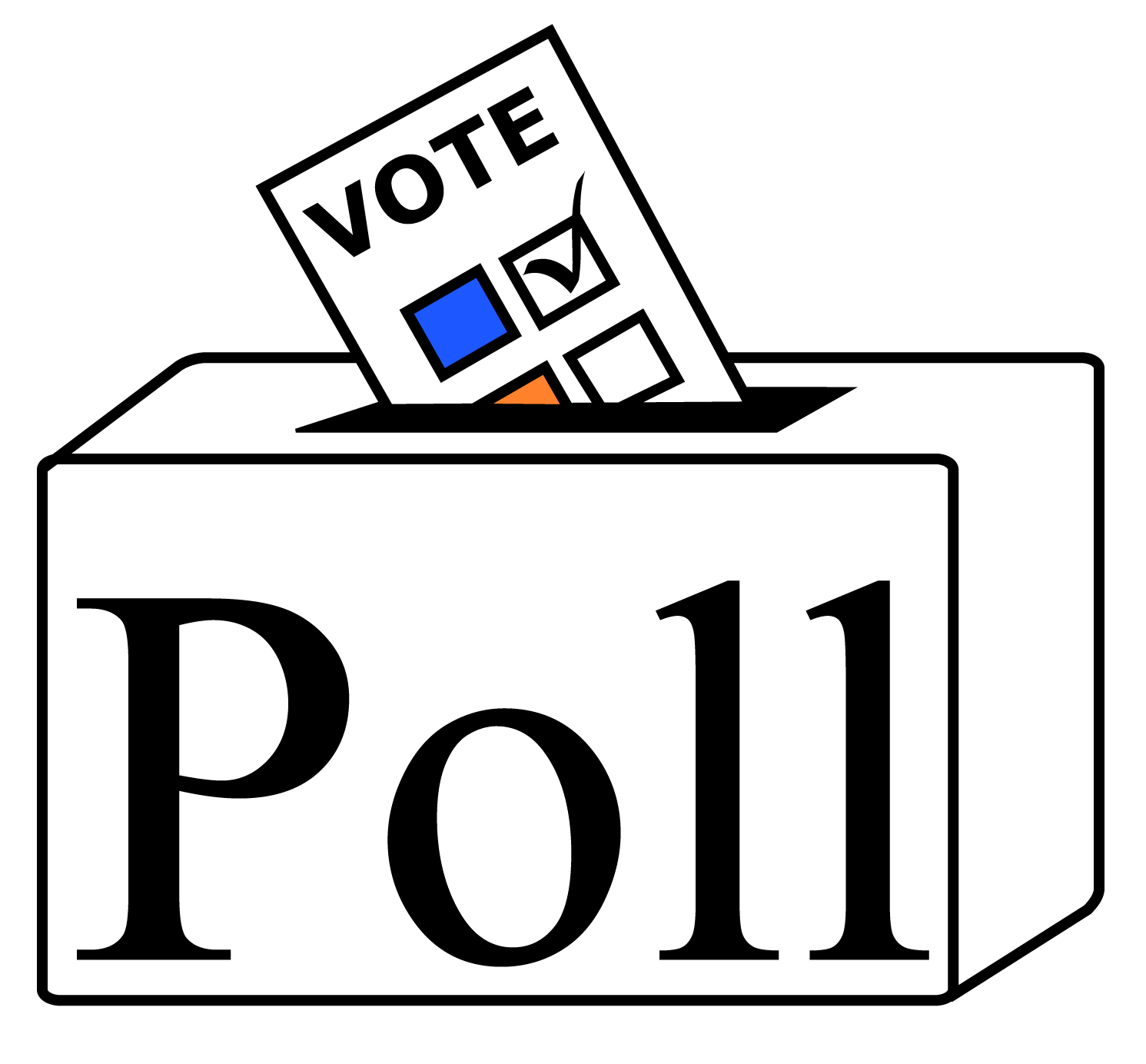 Data clipart poll. Election what do you