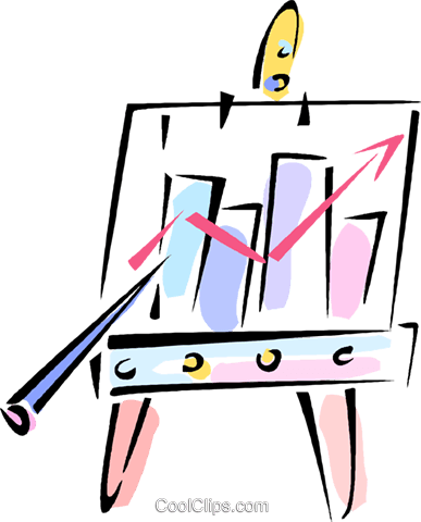 Data clipart scenario. Results review for free