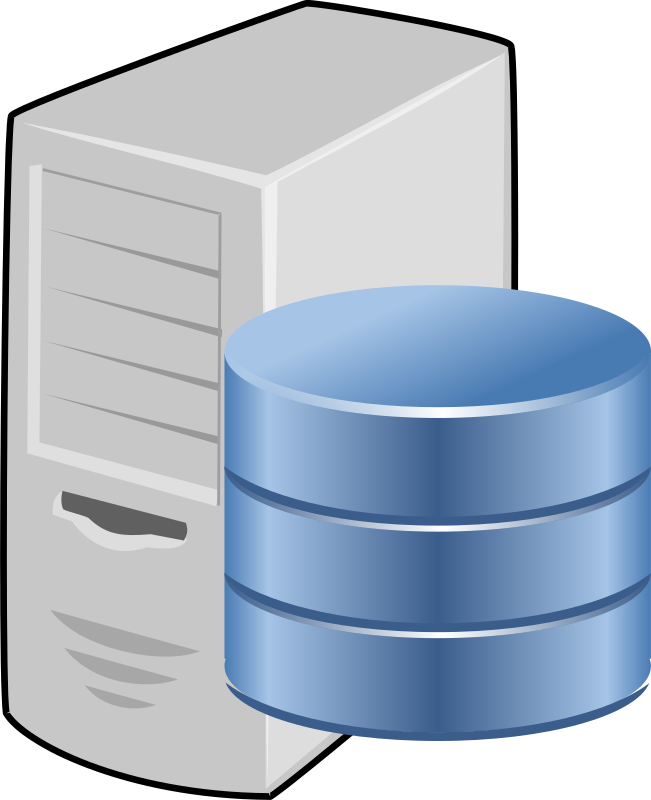 Data clipart server. Database medium image png