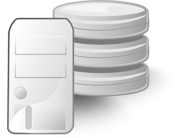 Data clipart server. Free database cliparts download