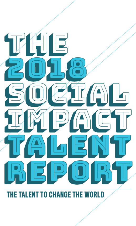 Data clipart social impact. Talent report echoing green