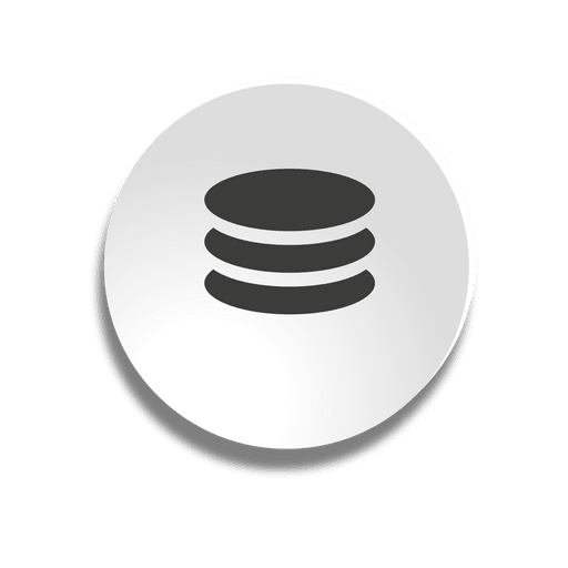 Bubble icon transparent png. Database vector library