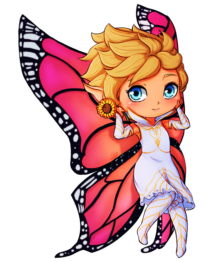 Dawn drawing. Chibi by cutieclovers on
