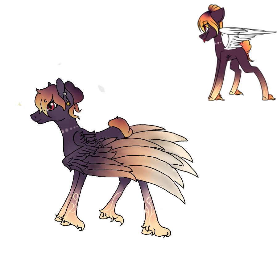 Dawn drawing. First of by unusalmonster