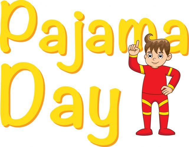 Day clipart class. Pajama