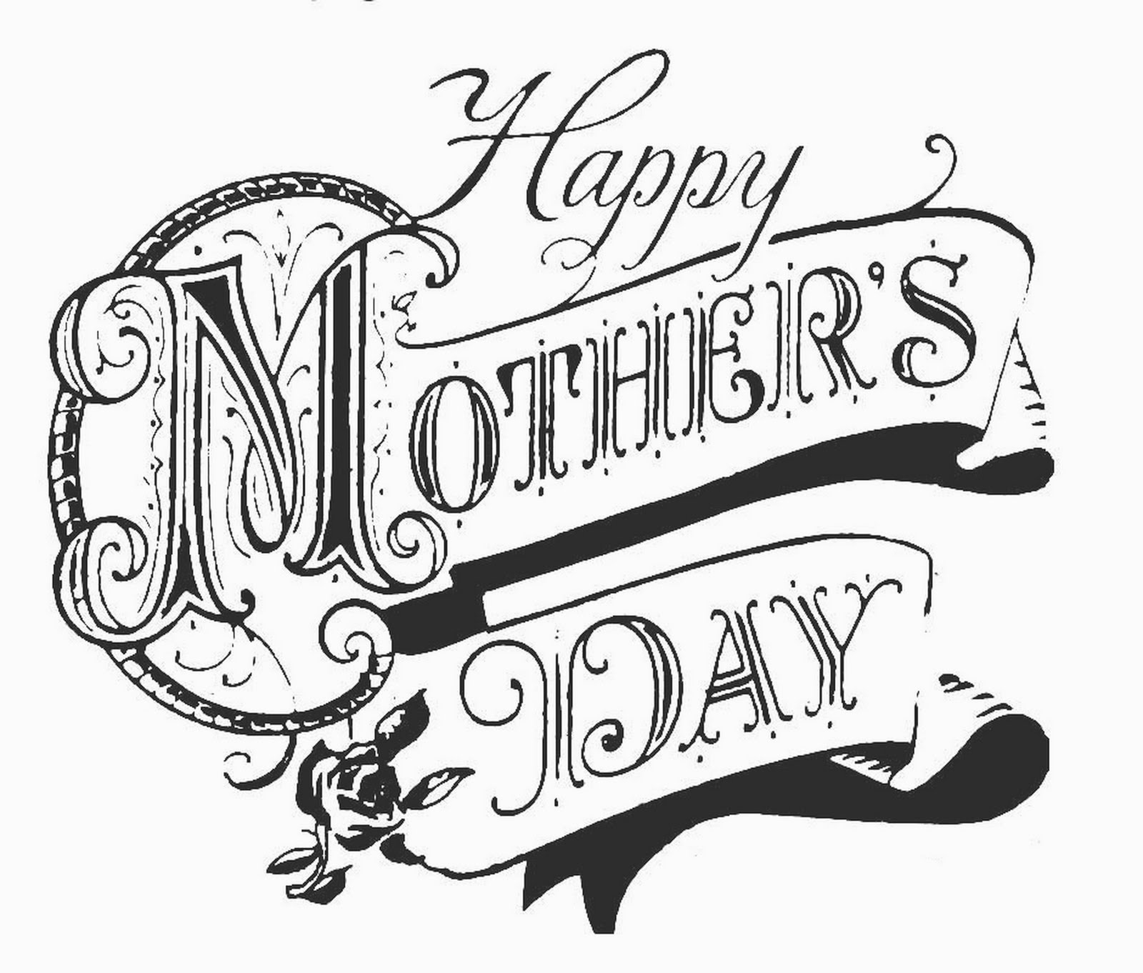 Day clipart drawing. Mother images at getdrawings