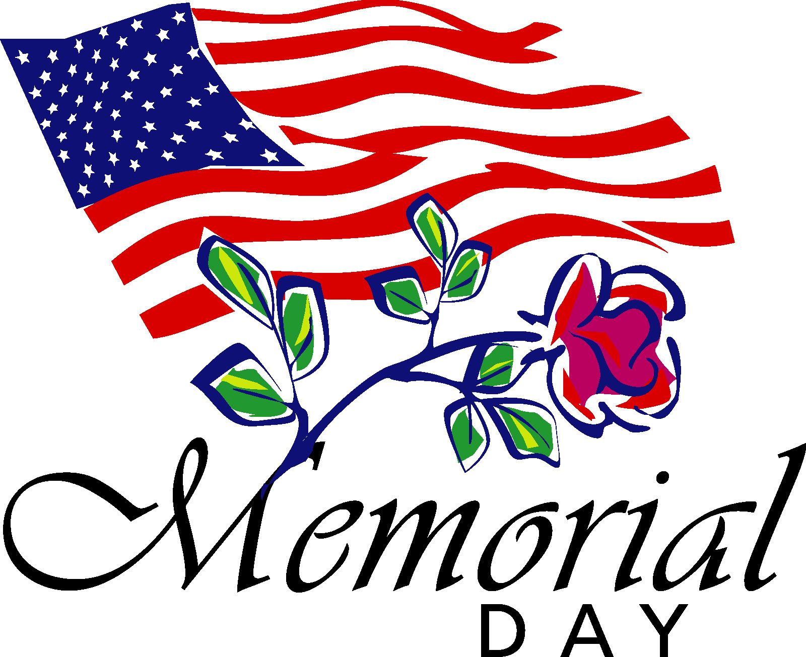 Day clipart memorial day. Clip art free large