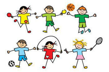 Day clipart sports. Secondary section wali memorial