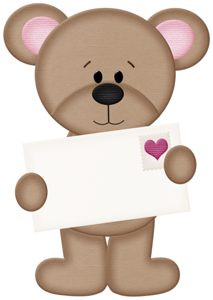 Day clipart stuffed animal. Valentine s teddy bear