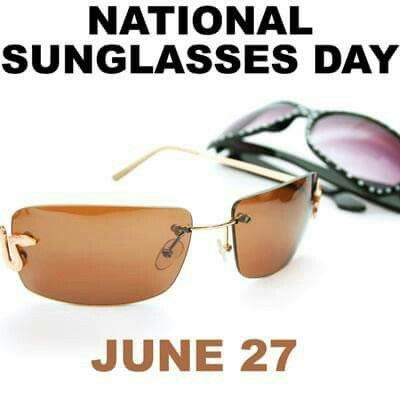Day clipart sunglass. The best national days
