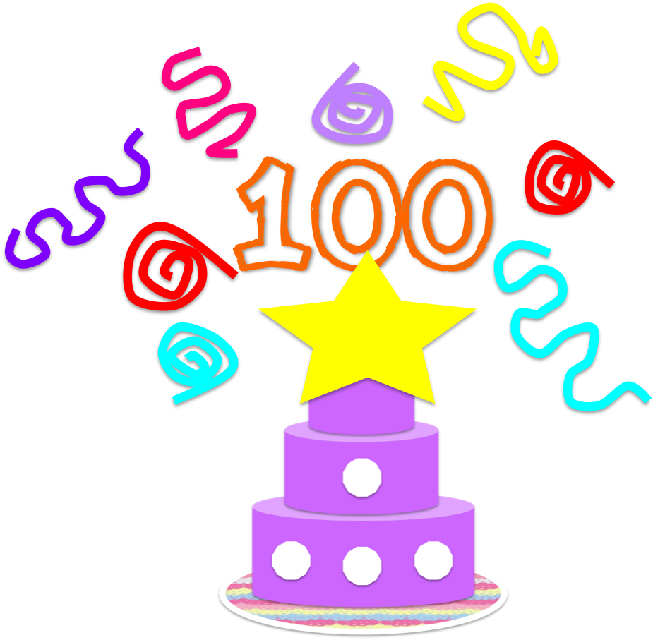 100 clipart 100 percent. Free days of the