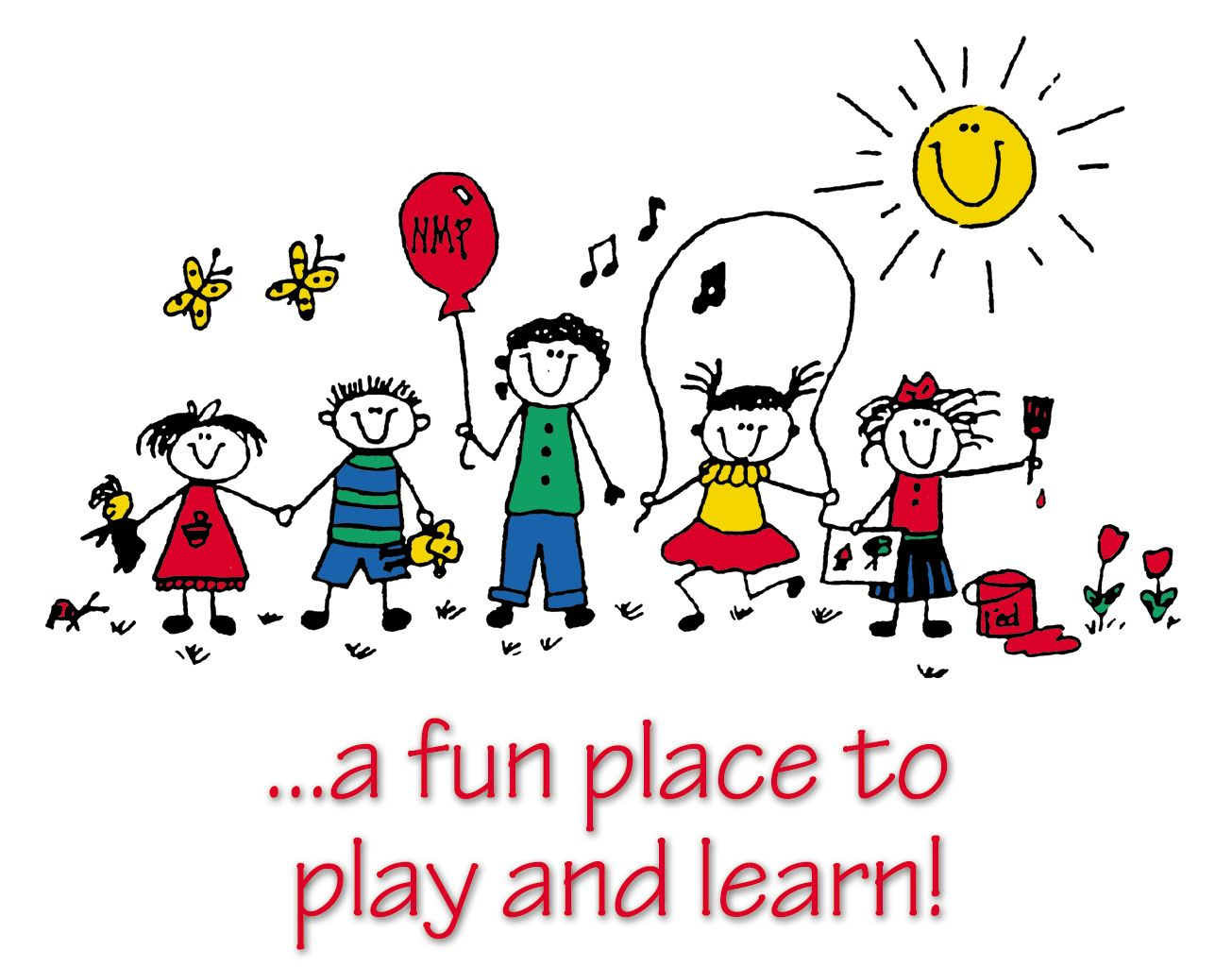 Preschool clipart. Free daycare child care