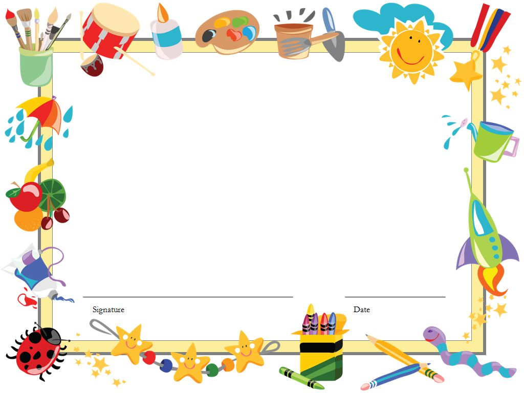 daycare clipart background