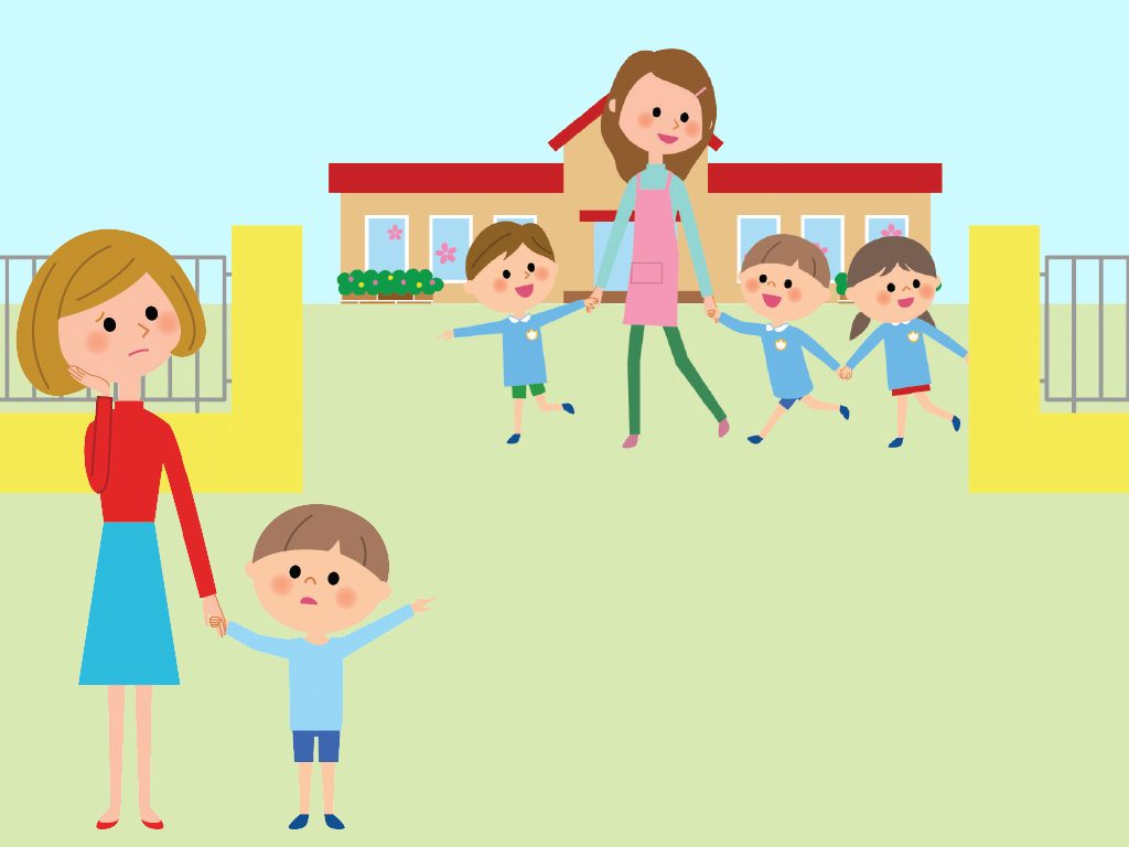 Daycare clipart childrens health. The stress of leaving