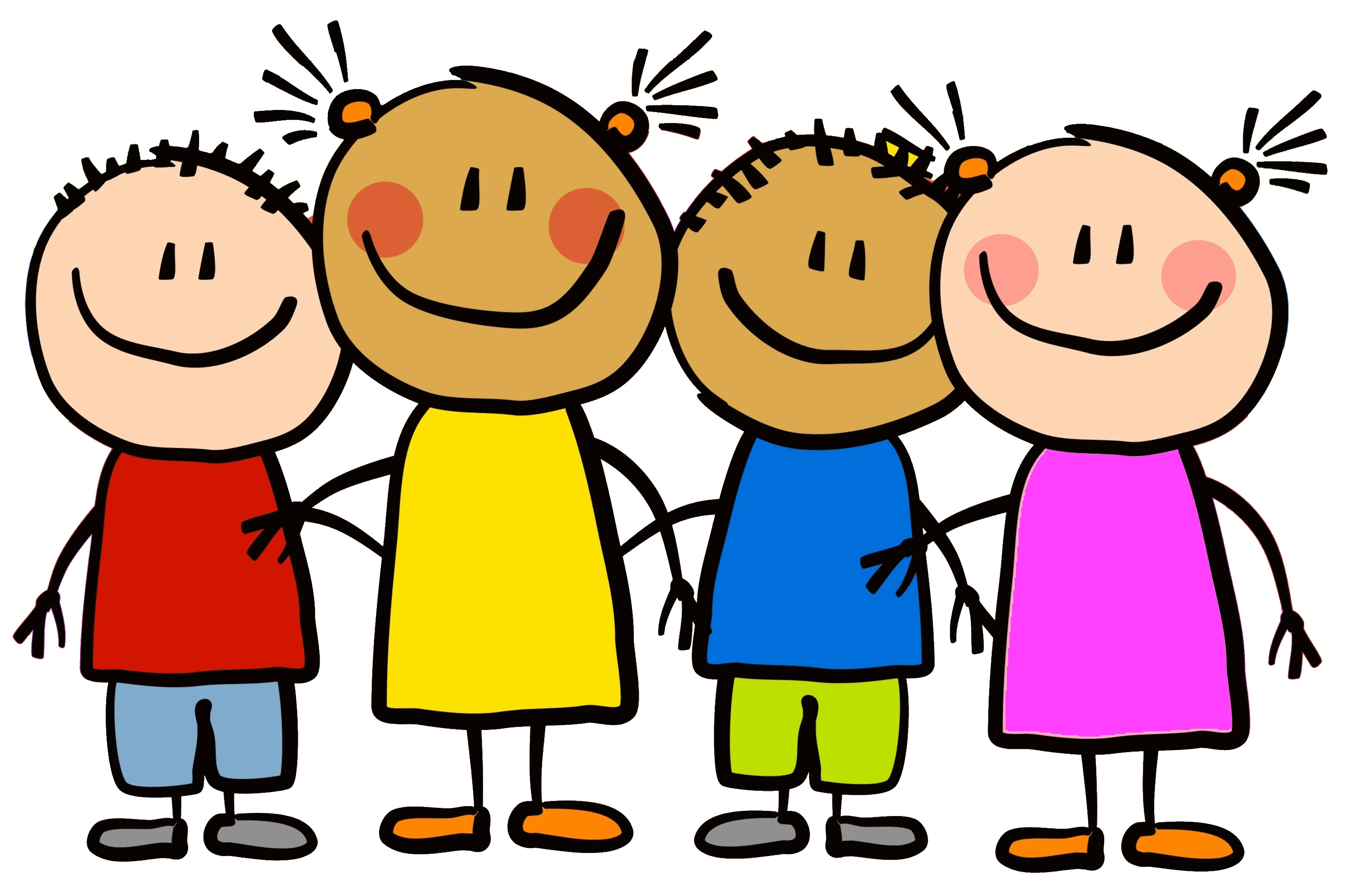 Daycare clipart childrens health. Happy kids at getdrawings