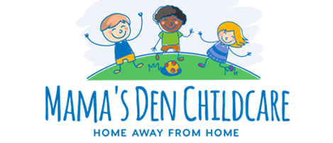 Daycare clipart home away from home. Mama s den santa