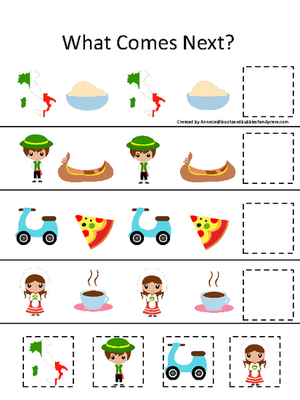 Daycare clipart homeschool. Italy themed what comes