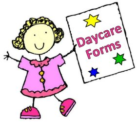 Daycare clipart write. How to start a