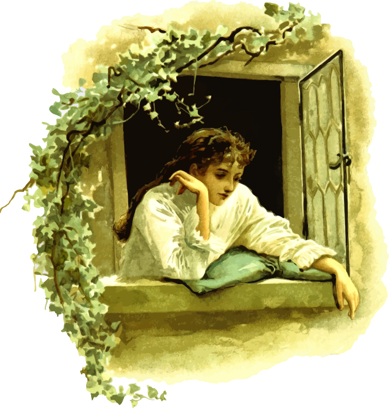 Daydreaming clipart sad. Medium image png