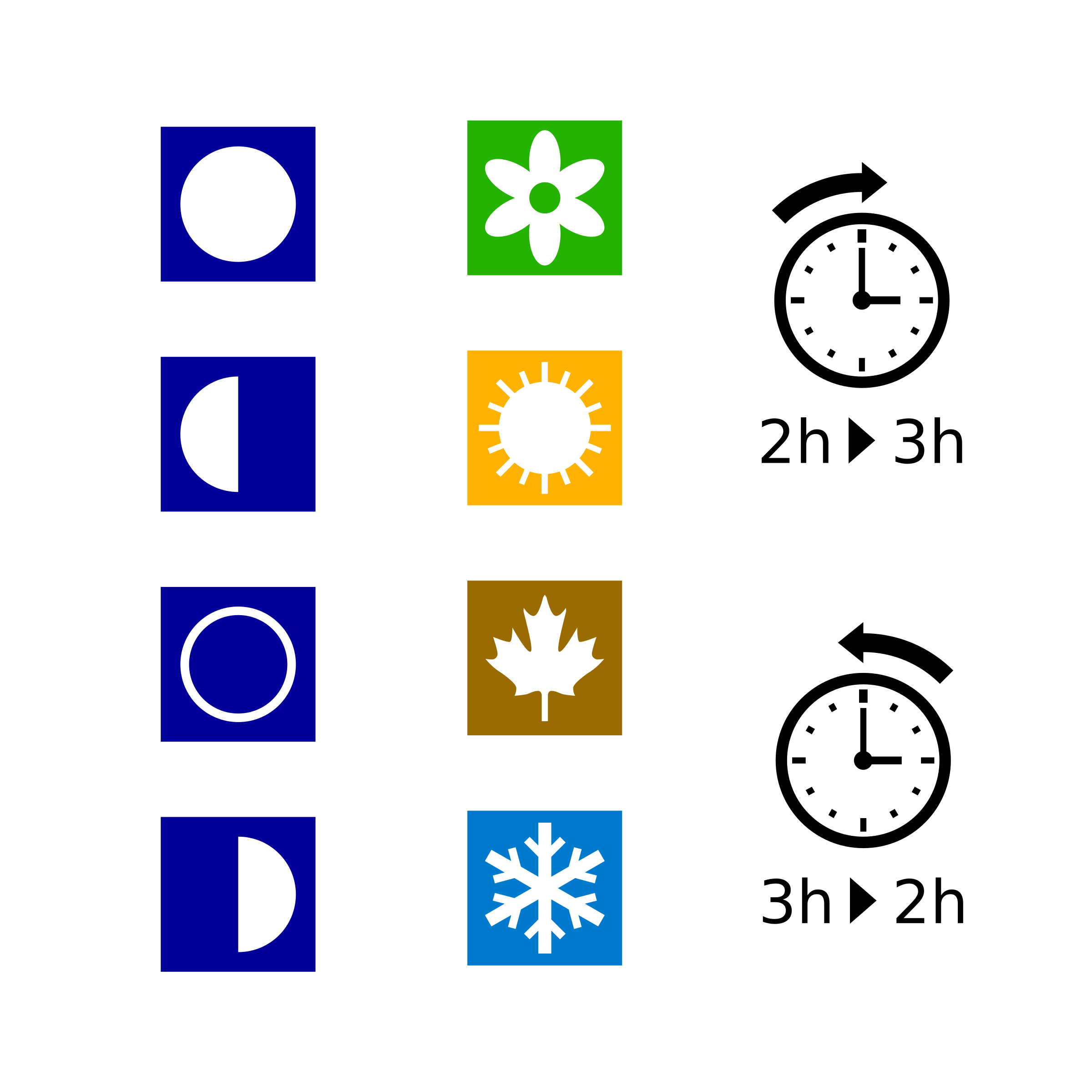 Daylight saving time png. Clipart moon phases seasons