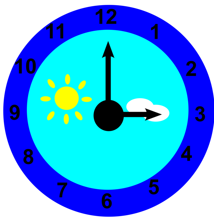 Daylight savings clipart. Digital clock jam dinding