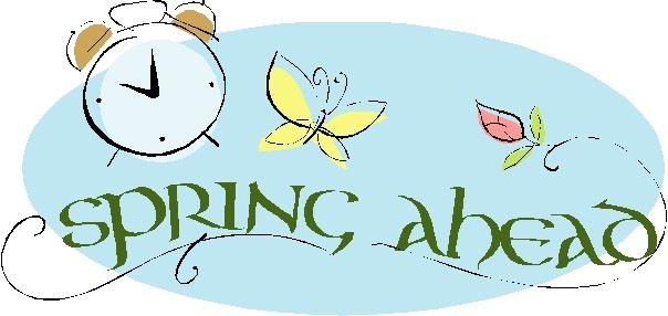 Daylight savings clipart. Time spring ahead saving