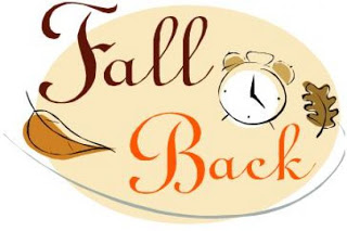 Fall back saving time. Daylight savings clipart graphic stock