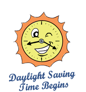 Daylight saving time png. Begins calendar history tweets