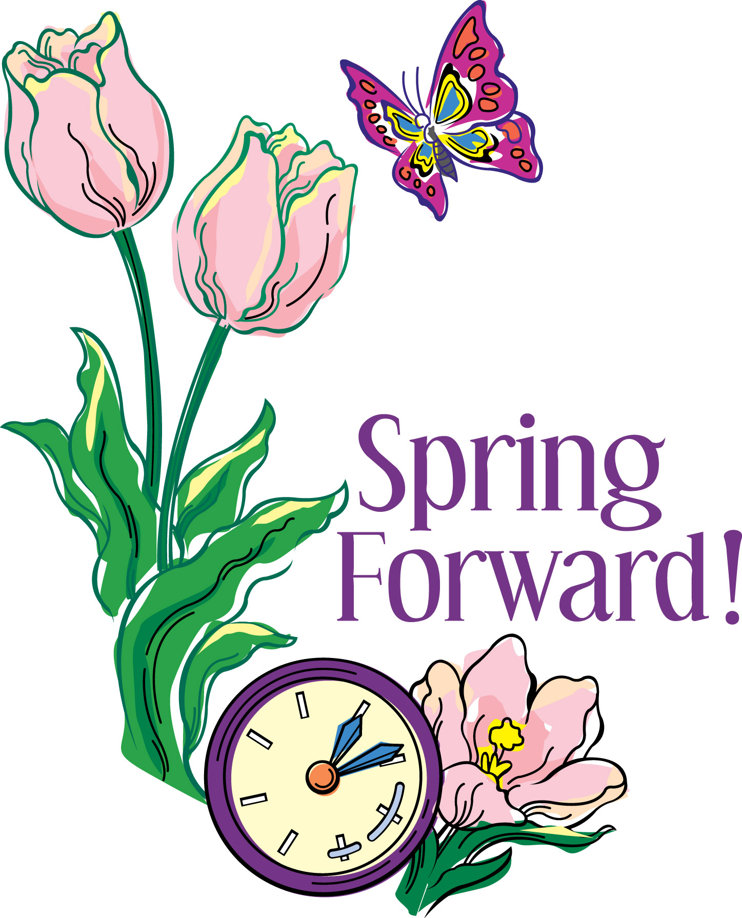 Daylight savings clipart begins. Time sommerset