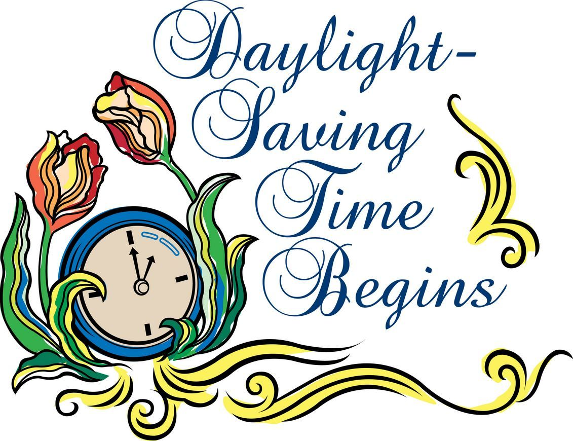 daylight savings clipart cartoon time