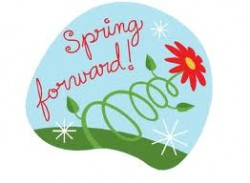 Daylight savings clipart spring forward. Saving time starts today