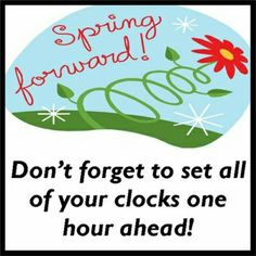 Daylight savings clipart spring forward. Time fall back google